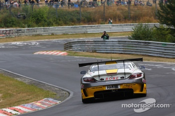Jan Seyffarth, Nico Bastian, Lance David Arnold, ROWE RACING, Mercedes-Benz SLS AMG GT3