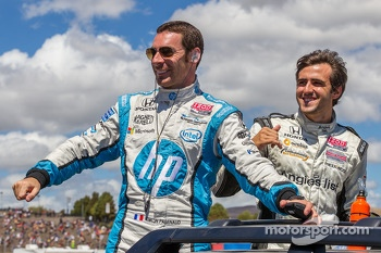 Simon Pagenaud and Tristan Vautier
