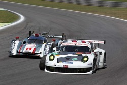Marc Lieb , Richard Lietz, Andre Lotterer, Benoit Treluyer, Audi Sport Team Joest, Audi R18 e-tron quattro