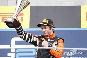 Race winner Adrian Quaife-Hobbs