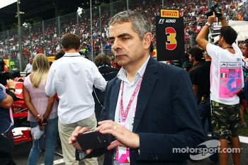 Rowan Atkinson, Actor on the grid