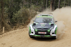 Yazeed Al-Rajhi and Michael Orr, Ford Fiesta RRC