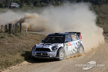 Nathan Quinn and Glenn Macneall, Mini John Cooper Works WRC