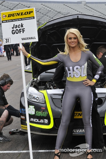 Grid Girl to Jack Goff