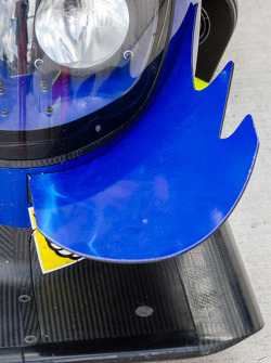 #8 Toyota Racing Toyota TS030 - Hybrid front wing detail