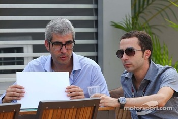 Nicolas Todt, Driver Manager (Right)
