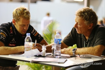 Sebastian Vettel, Red Bull Racing with Hermann Tilke, Circuit Designer