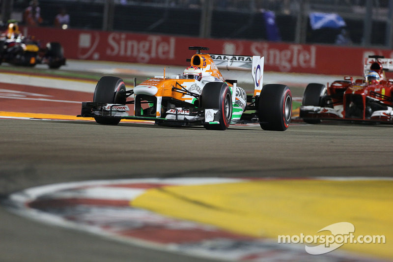 Paul di Resta, Force India Formula One Team