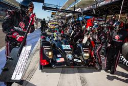 Pit stop for #552 Level 5 Motorsports HPD ARX-03b HPD: Scott Tucker, Marino Franchitti, Guy Cosmo