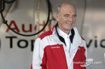 Dr. Wolfgang Ullrich (Head of Audi Motorsport)