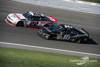 Chris Buescher and Brad Keselowski
