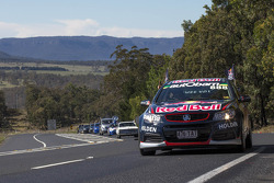 Red Bull Racing Australia drivers travel in convoy to Bathurst with fans