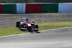 Fernando Alonso, Ferrari F138 spins