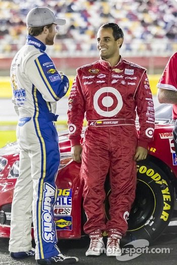 Brian Vickers and Juan Pablo Montoya