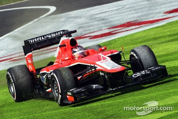 Jules Bianchi, Marussia F1 Team MR02 runs wide