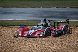 #18 Performance Tech Oreca FLM09 Oreca: Charlie Shears, Tristan Nunez in the gravel