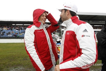 Adrien Tambay and Mike Rockenfeller
