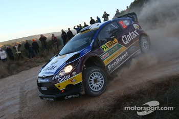 Hayden Paddon and John Kennard, Ford Fiesta RS WRC