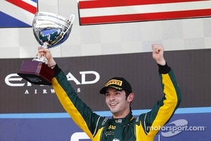 Race winner Alexander Rossi