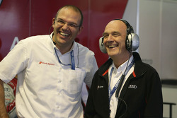 Chris Reike, head of LMP1 Audi, and Dr. Wolfgang Ullrich, head of Audi Motorsport