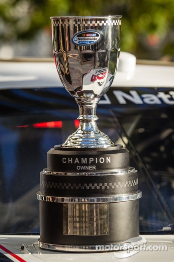 NASCAR Nationwide Series champion owner trophy