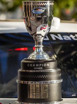 NASCAR Nationwide Series champion owner trophy