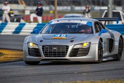 #48 Paul Miller Racing Audi R8: Bryce Miller, Benoit Tréluyer