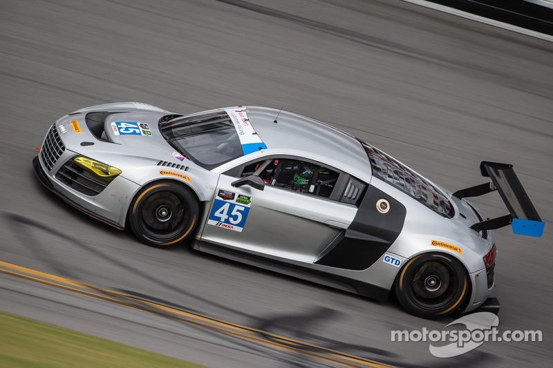 #45 Flying Lizard Motorsports Audi R8: Seth Neiman, Spencer Pumpelly, Marco Bonanomi