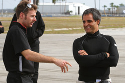 Will Power and Juan Pablo Montoya