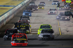 NASCAR-TRUCK: Ty Dillon leads a group of truck back to track