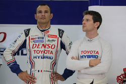 Stéphane Sarrazin and Anthony Davidson