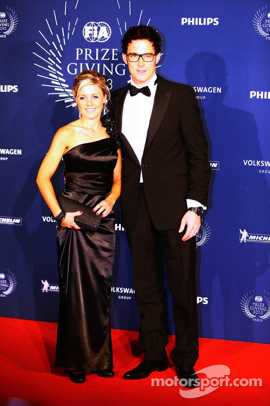 Thierry Neuville, and his wife