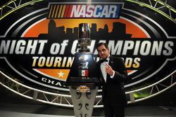 NASCAR Mexico Toyota Series champion Rodrigo Peralta