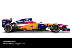 Retro F1 car - Lola 1997