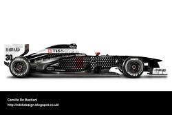 Retro F1 car - Sauber 1994