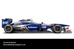 Retro F1 car - Williams 1996