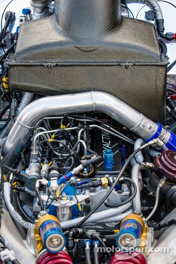 Engine of the SpeedSource Mazda