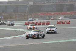 #43 Sorg Rennsport BMW Z4M Coupe: Paul Follett, Marco van der Knaap, Henk Thijssen, Daniel Sorg, Lars Zander