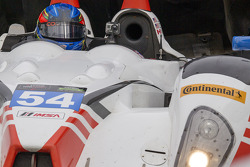 #54 CORE autosport ORECA FLM09: Jon Bennett, Colin Braun, Mark Wilkins