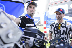 Cyril Despres and Sébastien Loeb