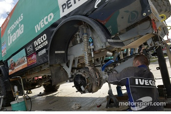 An Iveco engineer