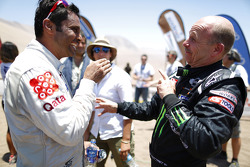 Nasser Al-Attiyah and Jean-Paul Cottret
