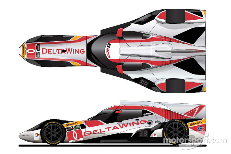 New livery for the DeltaWing