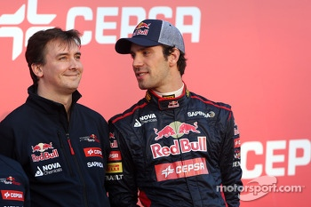 James key, Technical Director, Scuderia Toro Rosso and Jean-Eric Vergne, Scuderia Toro Rosso