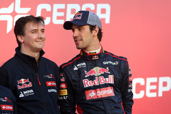 James key, Technical Director, Scuderia Toro Rosso and Jean-Eric Vergne, Scuderia Toro Rosso