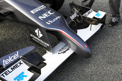 Sauber C33 front wing and nosecone
