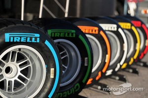 The Pirelli tyre line up