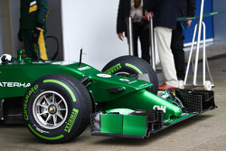 Caterham CT05 nosecone and front wing