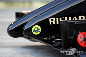 The Lotus F1 E22 is officially unveiled - nosecone detail