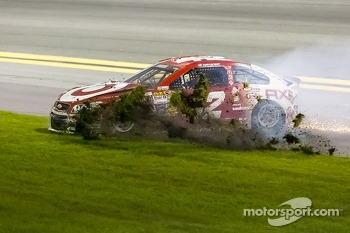Trouble for Kyle Larson, Ganassi Racing Chevrolet